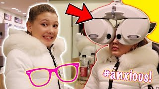 BIG NEWS FOR ISABELLE AT THE OPTICIANS!