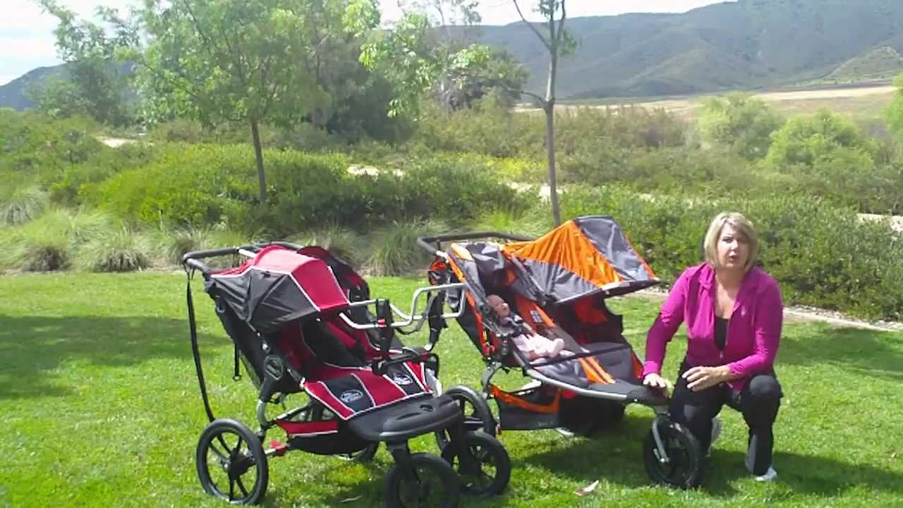 Bob Revolution Se Duallie Vs Baby Jogger Summit Xc Double Jogging Stroller Comparison