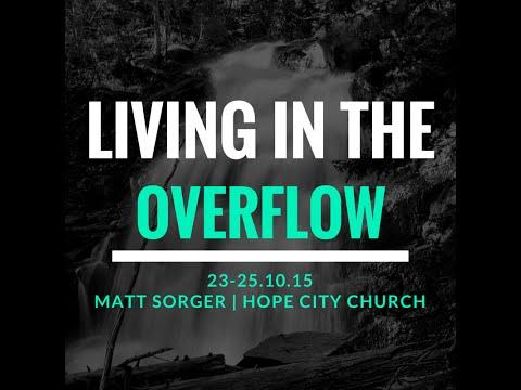 Living In The Overflow Session 1 - Matt Sorger