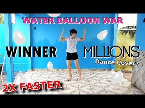 [2X FASTER + WATER BALLOON WAR] WINNER - MILLIONS - Dance Cover? by Frost