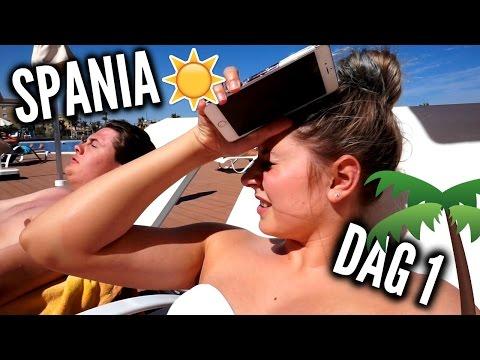Tan, tan, tan :: Spania dag 1 - VLOGWEEK