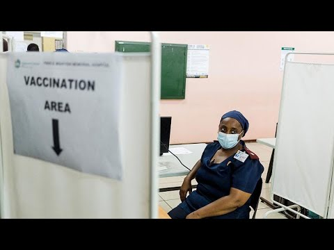 South Africa steps up COVID vaccinations as cases spike