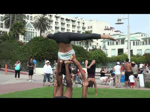 Santa Monica Gymnastics @ The Original Muscle Beach, Join us Facebook.com/MaximFit
