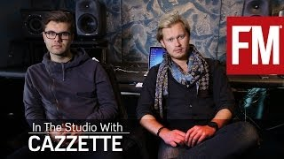 Cazzette In The Studio explaining the making of One Cry