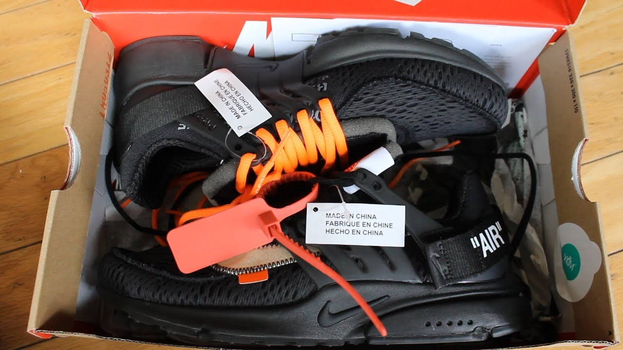 How To Spot Fakes | Unboxing The OFF WHITE Nike Presto