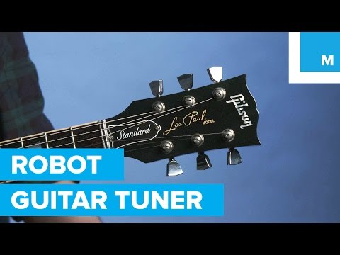 Gibson Les Paul Robot Guitar Automatically Tunes Itself | Mashable