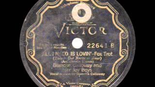 Blanche Calloway and her Joy Boys - I Need Lovin