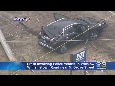 Winslow Township Police Officer Hospitalized In South Jersey Crash
