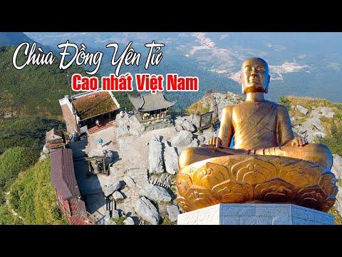 CHÙA YÊN TỬ QUẢNG NINH | Khám phá Chùa Đồng linh thiêng cao nhất Việt Nam
