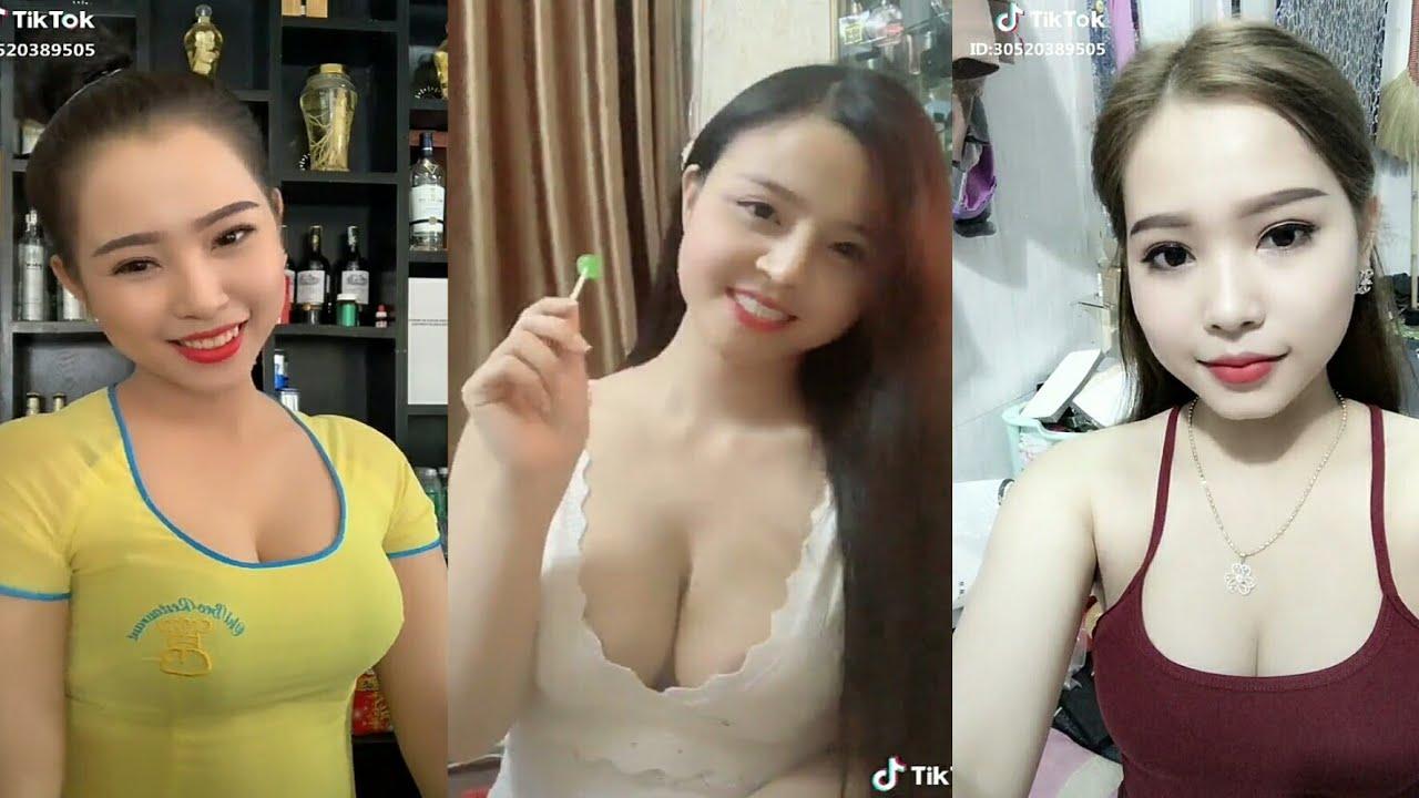 P6❤ Ngắm Gái Xinh Việt Nam Trên TikTok Cực Xinh Nghe Nhạc Remix Cực Hay