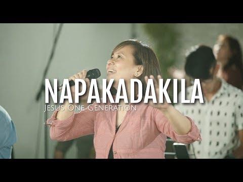 NAPAKADAKILA  ~ LIVE Worship  ~ Jesus One Generation
