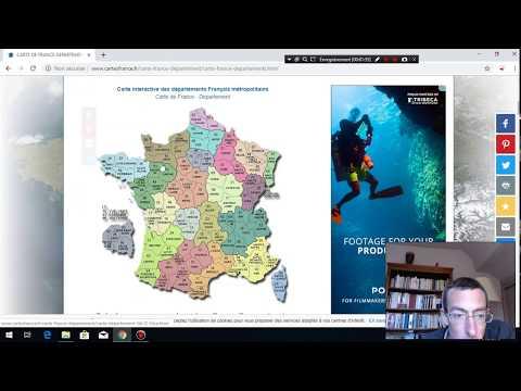 French Website- France Maps- Cartefrance.fr