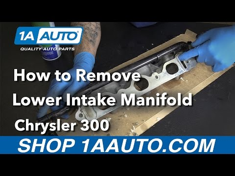 How to Replace Lower Intake Manifold 05-10 Chrysler 300