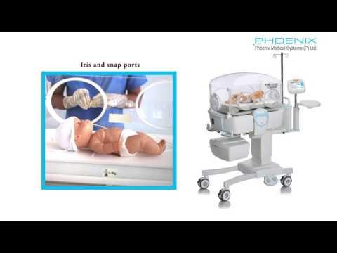 Neonatal Intensive care Unit(NICU) Incubator Equipment INC 200 ( Hindi )