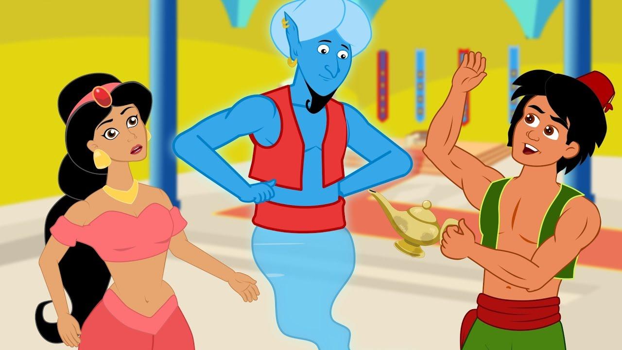Aladino e la lampada meravigliosa storie per bambini cartoni