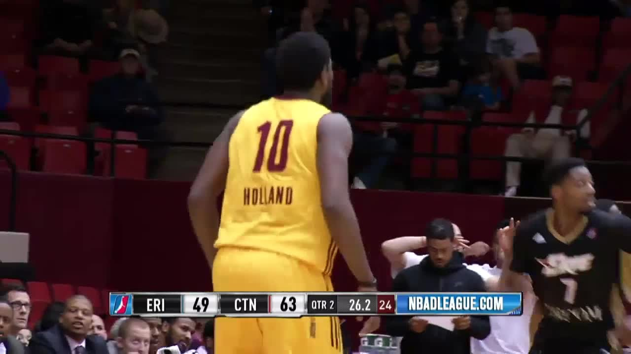 f5d4c5b99 John Holland NBA D-League Highlights  March 2016 - YouTube