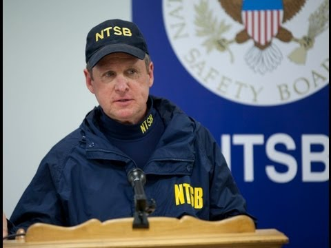 NTSB investigator Ralph Hicks briefs media on Morristown, New Jersey airplane accident