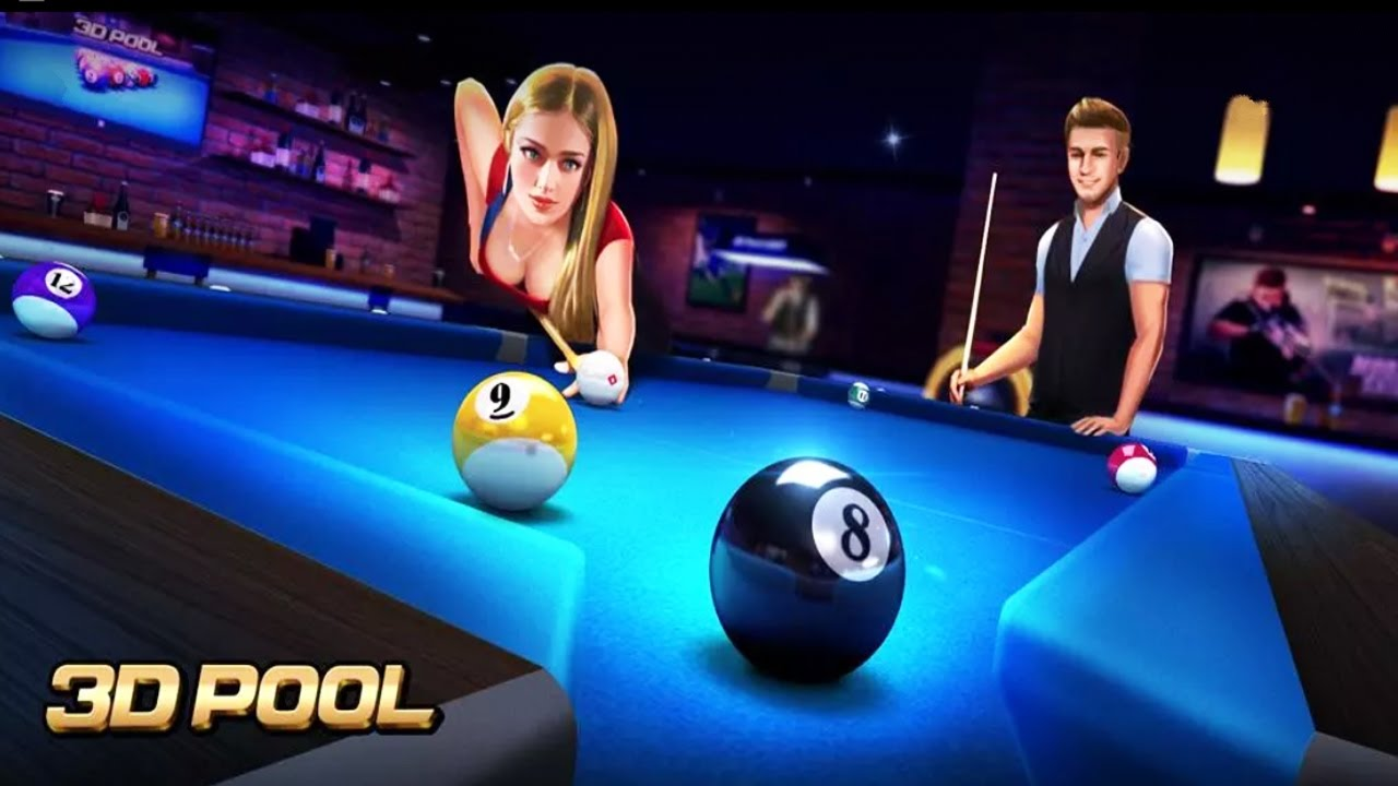 Image result for Three-D POOl Ball