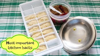 Most Important Tips and Tricks of Kitchen || Kitchen Hacks for Beginners
