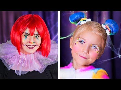 ТОП 7 – макияжи для Хэллоуина