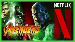 Avengers Infinity War en NETFLIX   Casi TODAS las peliculas de MARVEL en NETFLIX