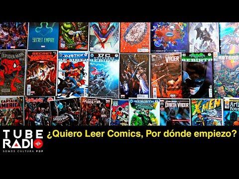 Tube Radio: ¿Quiero Leer Comics, Por dónde empiezo?