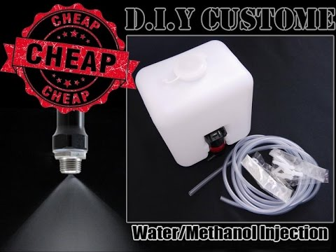 Diy Windshield Washer Water Injection Kit Also Works As