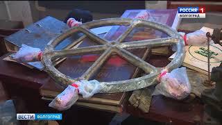 В Волгограде идет реконструкция поднятого со дна Волги бронекатера
