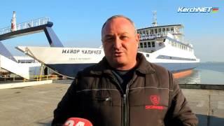 Шестимиллионным пассажиром переправы Крым-Кавказ оказался дальнобойщик из Рязани