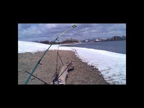 Видео. Первая пробная рыбалка  на реке Обь .