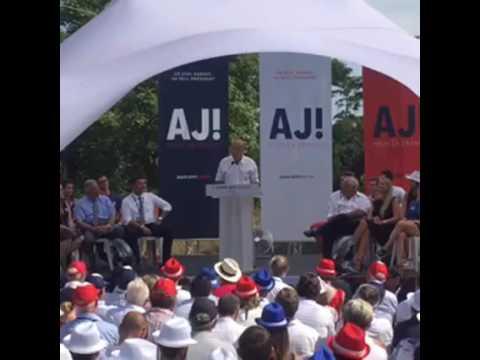 Alain Juppé - Discours de Chatou 2016