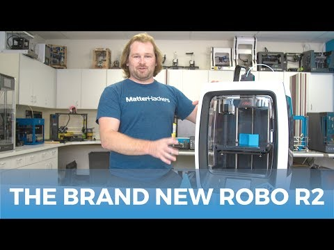 Say Hello To The Brand New ROBO3D R2 // 3D Printer Product Overview