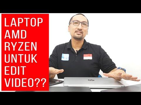 Laptop APU AMD Ryzen Untuk Video Editing (Premiere/PowerDirector)? Emang Bisa? Kalau Gaming Pasti Ok