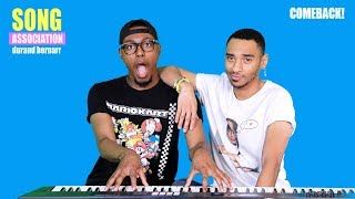 DURAND BERNARR sings Mariah Carey, Ashanti, and Ari Lennox | SONG ASSOCIATION COMEBACK!