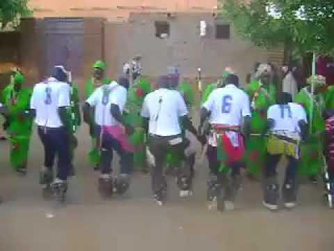Nuba Mountains Dance/رقصة الكيسى  و فرقة دمبا