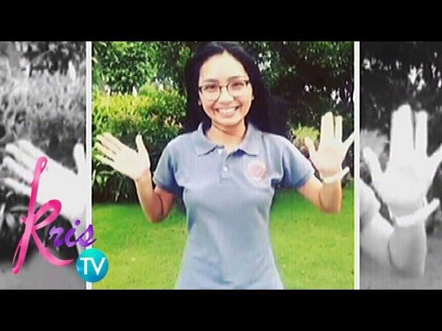 Kris TV: Kathryn on balancing school and showbiz
