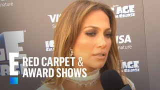 Jennifer Lopez Talks Orlando Tribute Song | E! Live from the Red Carpet