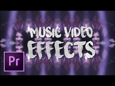 5 AMAZING & SIMPLE Music Video Effects NO PLUGINS REQUIRED! | Premiere Pro Tutorial