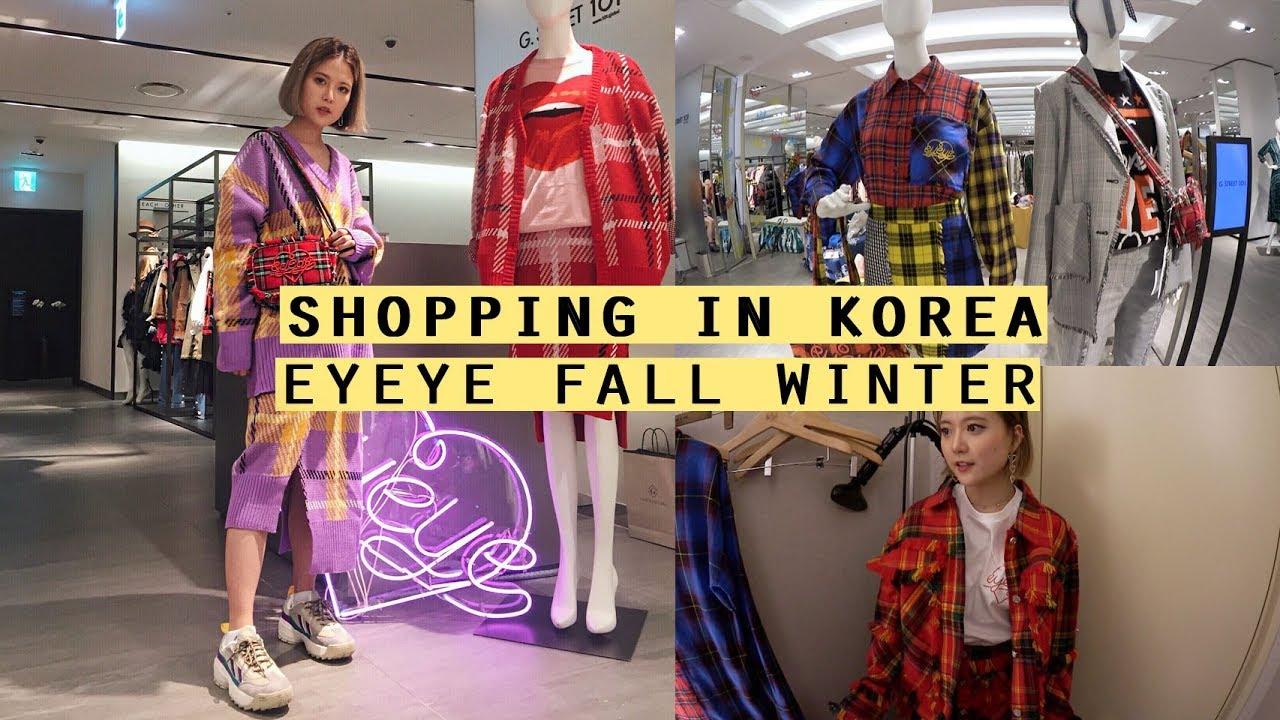 Shopping In Korea: EYEYE Fall Winter Outfits 2018   Q2HAN