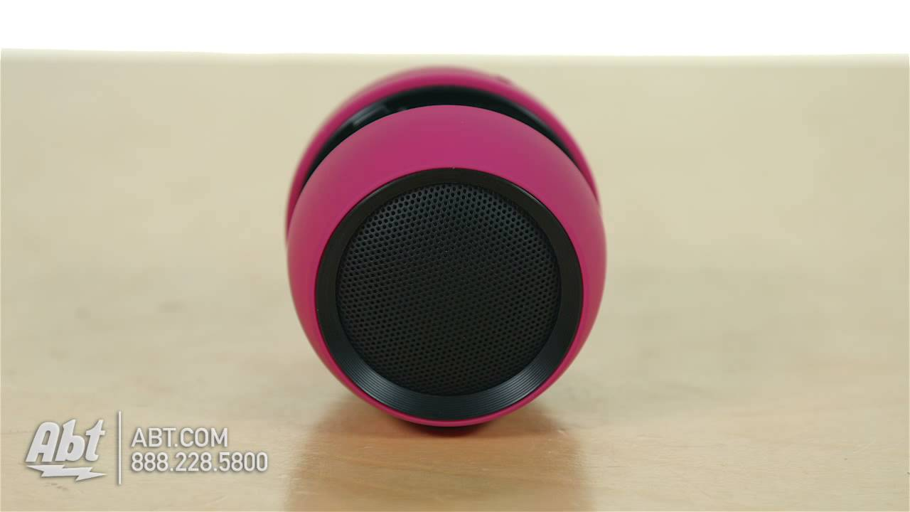 iHome iBT72 Portable Bluetooth Speaker - Overview