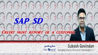 SAP SD - Credit Management Report of a Customer