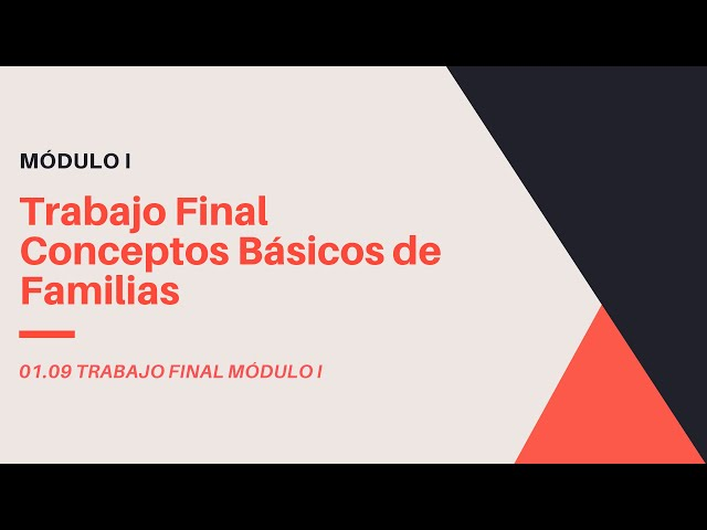 Familias en Revit 2020 | 09 Requisitos de Proyecto final Modulo I Revit Expert en Familias