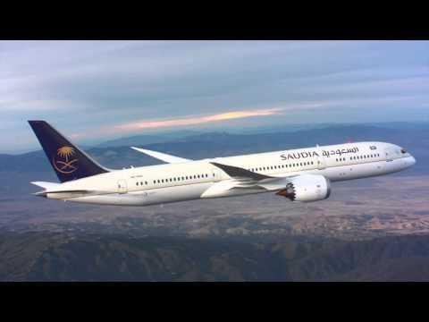 SAUDIA new Boeing 787-9 Dreamliner
