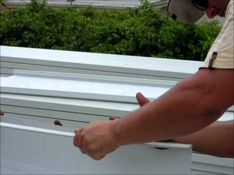 Roofing contractor Florida -How to install metal panels