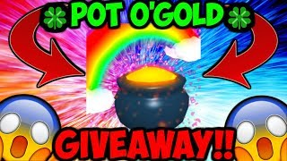 POT O'GOLD SECRET PET GIVEAWAY!! (Bubble Gum Simulator Roblox)