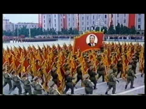 North Korea Military Parade 2003 English Documentary (not western propaganda)