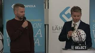 Lehdistötilaisuus: KuPS - IFK Mariehamn
