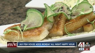 Jax Fish House and Oyster Bar adds Monday all night happy hour