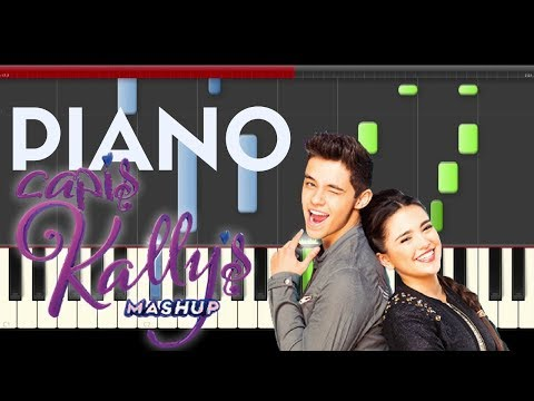 kally's Mashup Opening Key Of Life No Voy A cambiar Piano  tutorial  Cover Karaoke