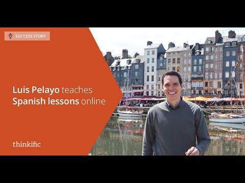 Teaching Spanish Courses Online | Thinkific Success Story: Luis Pelayo